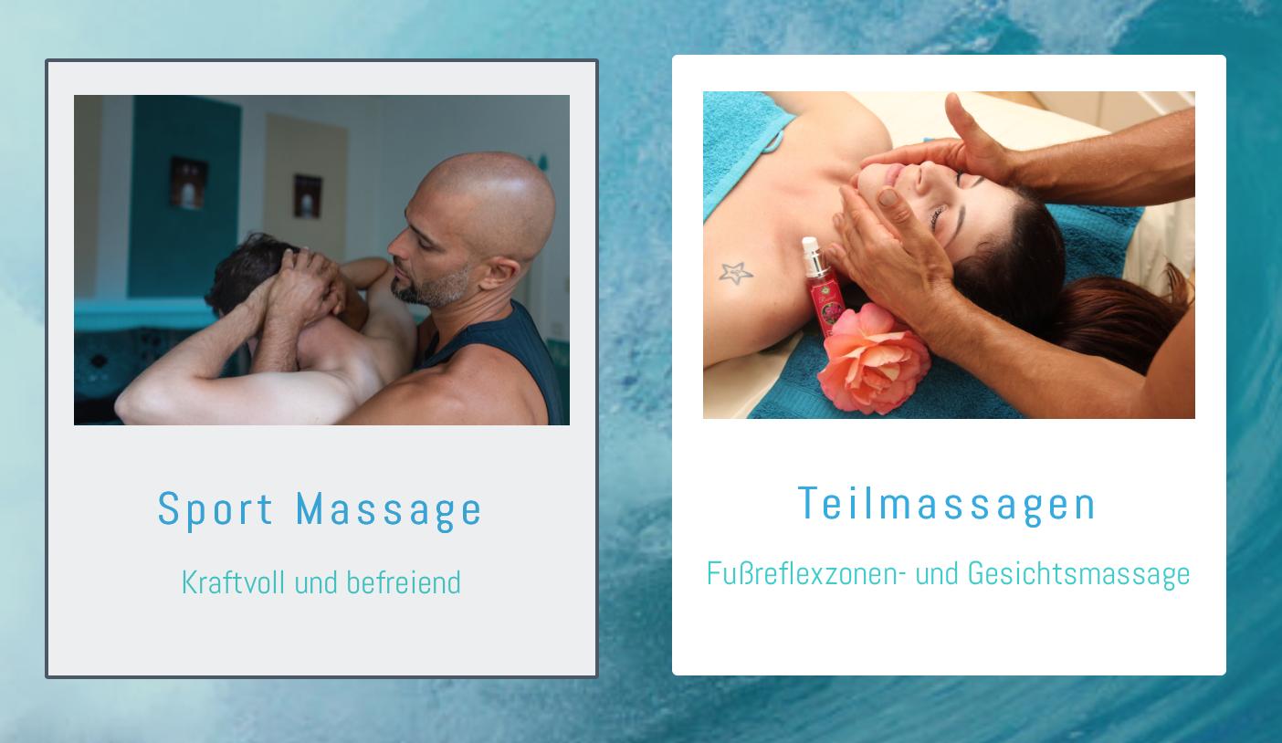 Massage Auswahl Teil 2