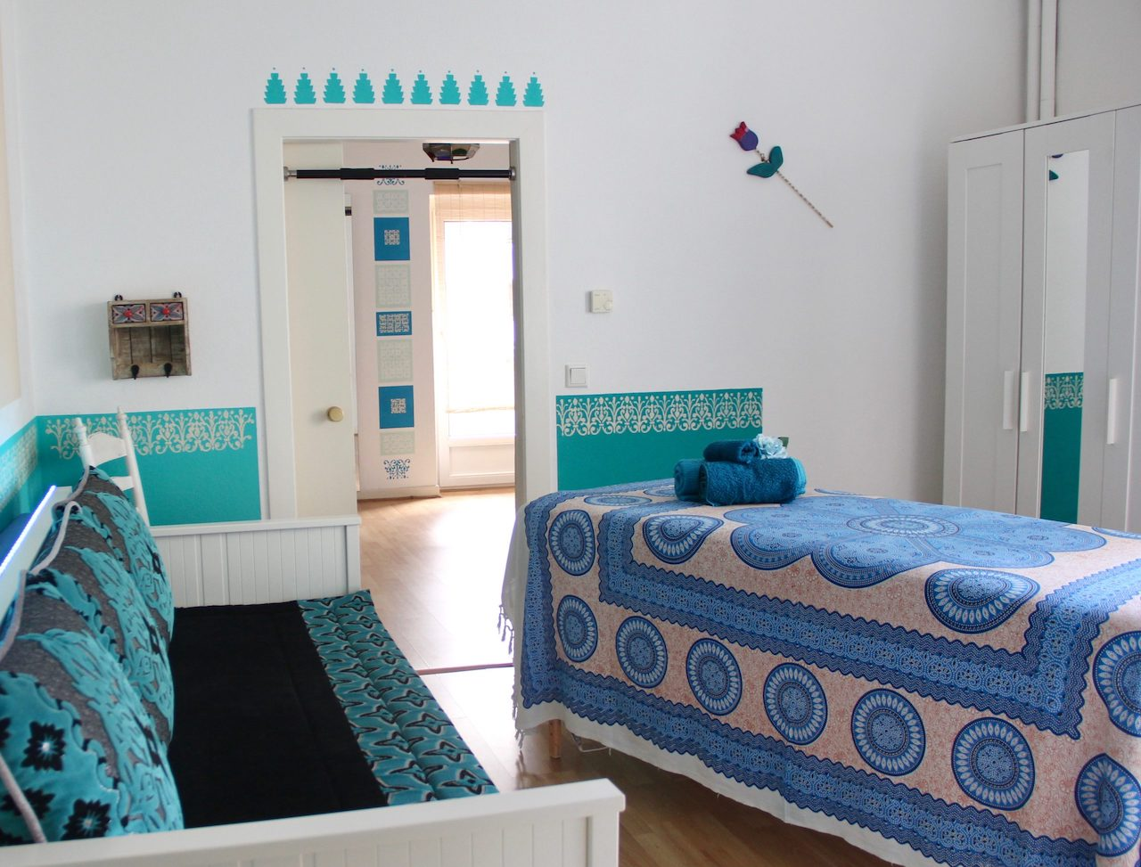 Azzurro, Behandlungsraum für Massagen