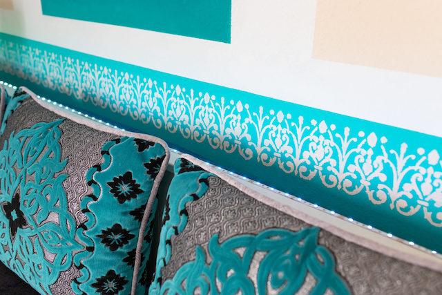 Orientalisches Flair bei Azzurro