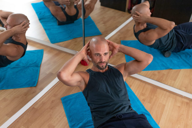 Faszien Rollmassage, Training, Schmerztherapie