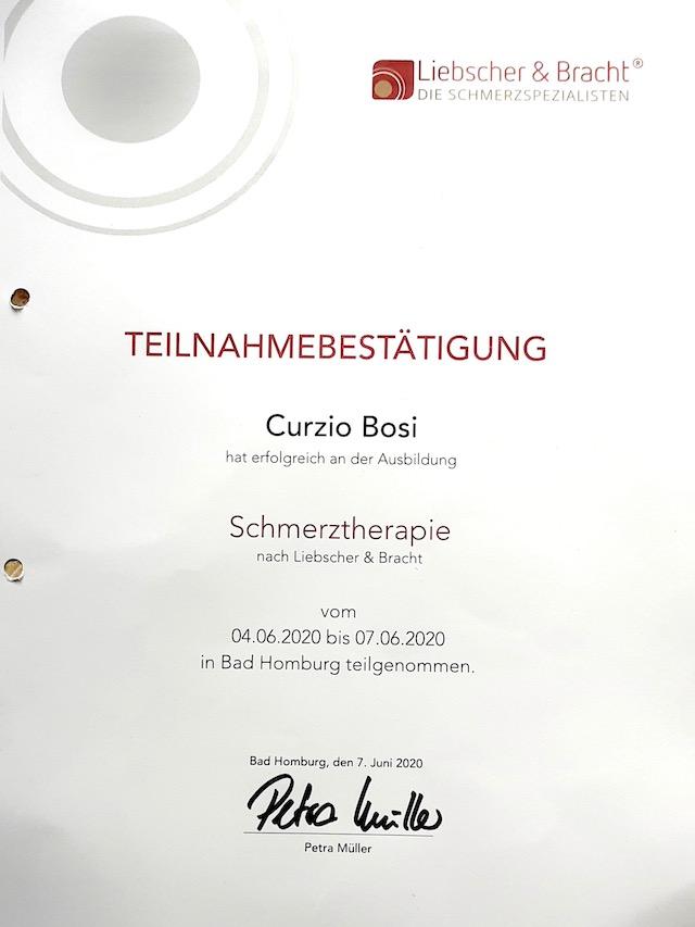 Zertifikat Meridian Massage